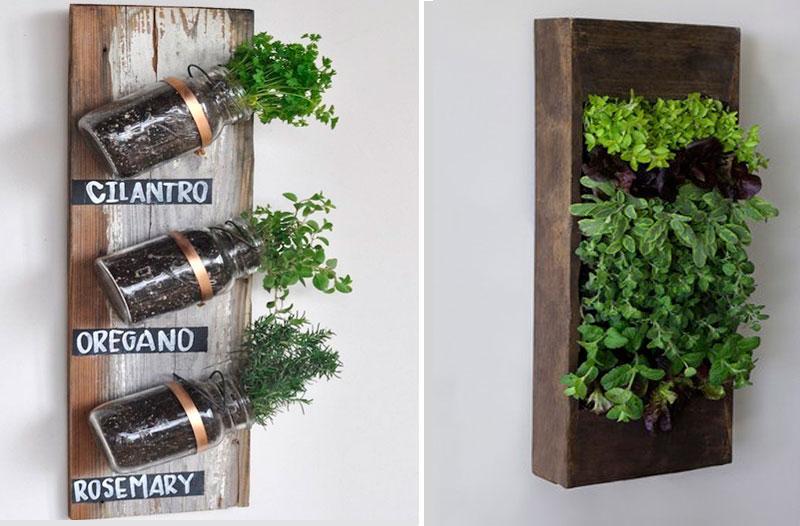 Un jard n vertical en casa noticias sector inmobiliario for Imagenes de jardines verticales