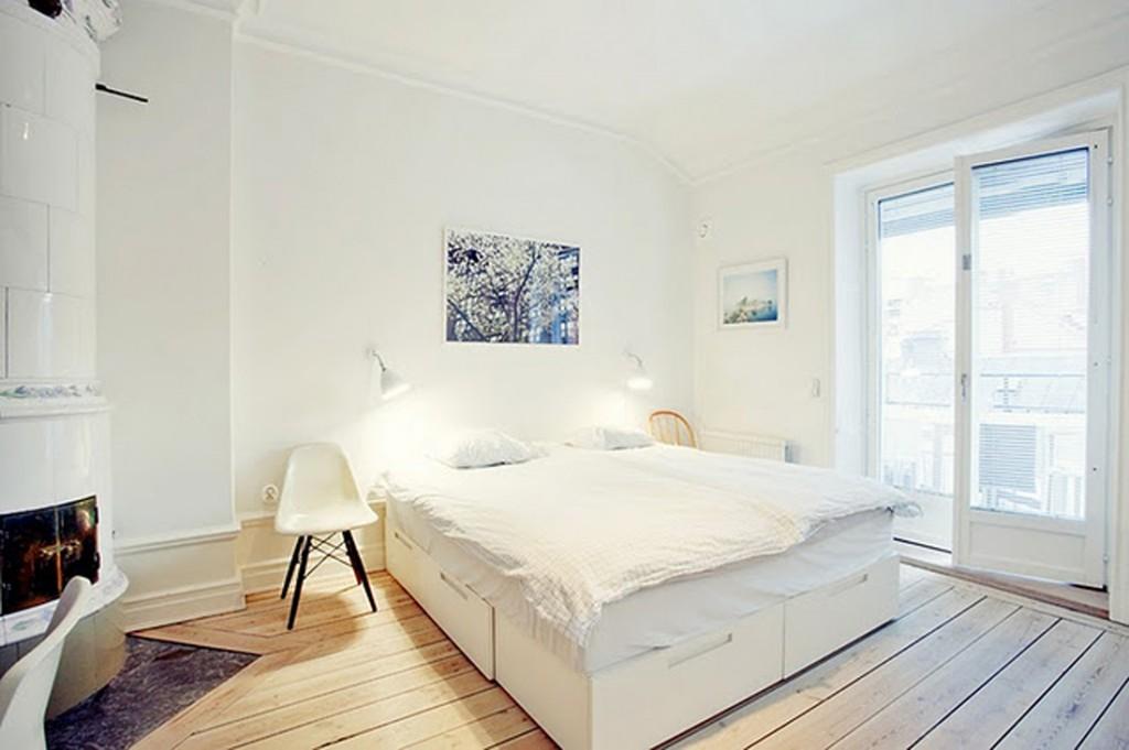 El binomio perfecto para cualquier interior es el blanco y - Casas de madera decoracion ...