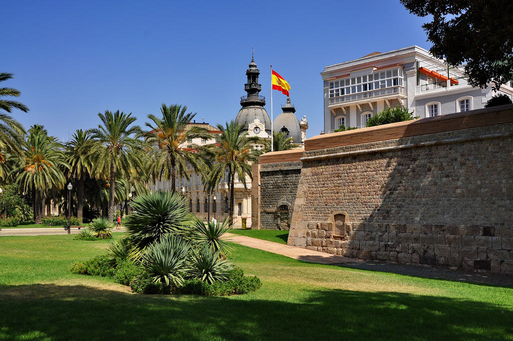 Muralla del Mar - Cartagena, Murcia - España