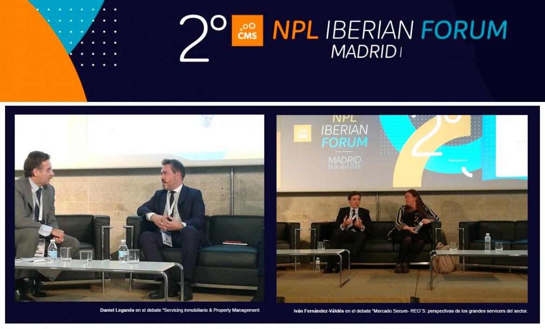 Haya en el 2º NPL Iberian Forum
