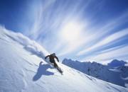 Esquiando en los Pirineos