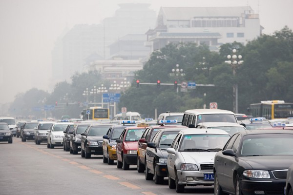 Contaminación por tráfico