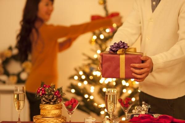 Fiesta en casa en Navidad