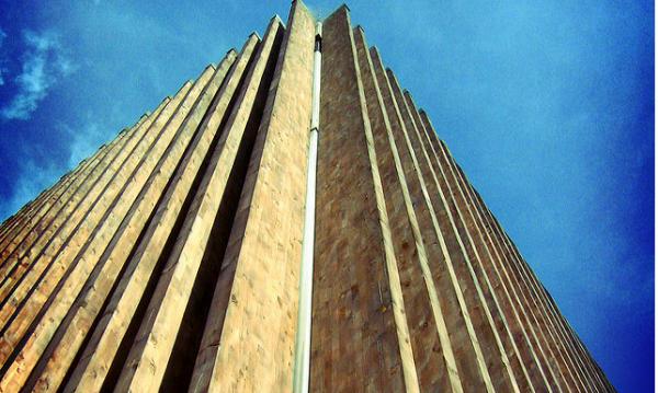 edificios madera