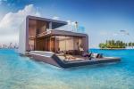 Villas flotantes con el dormitorio bajo el mar en Dubai