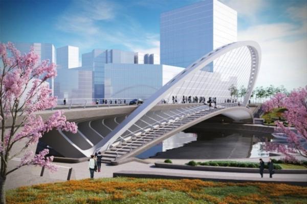 Puente en Huashan
