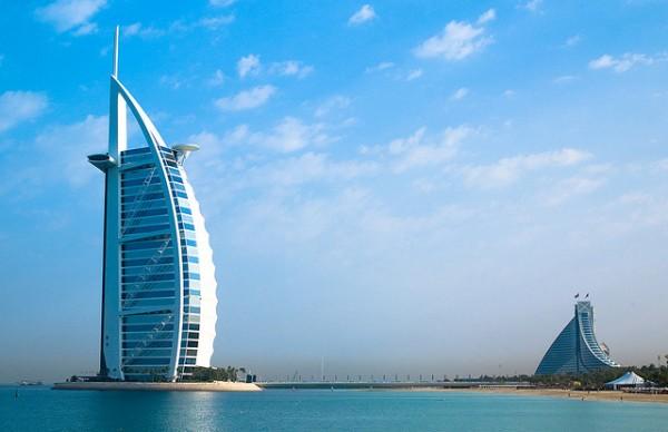 construcción Dubai
