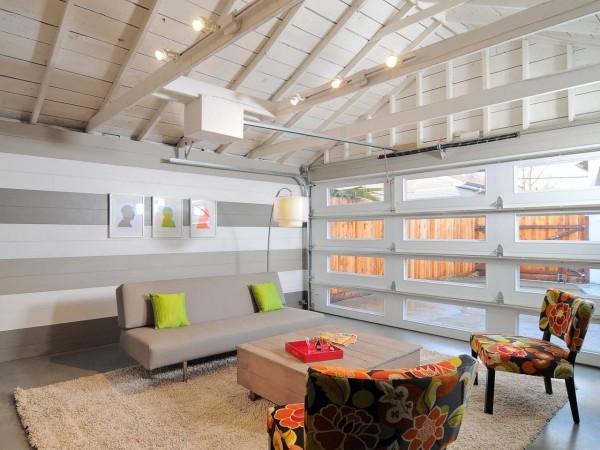 Garaje transformado en vivienda