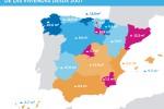 ¿Dónde se venden las viviendas más grandes en España? Busca tu provincia y compruébalo